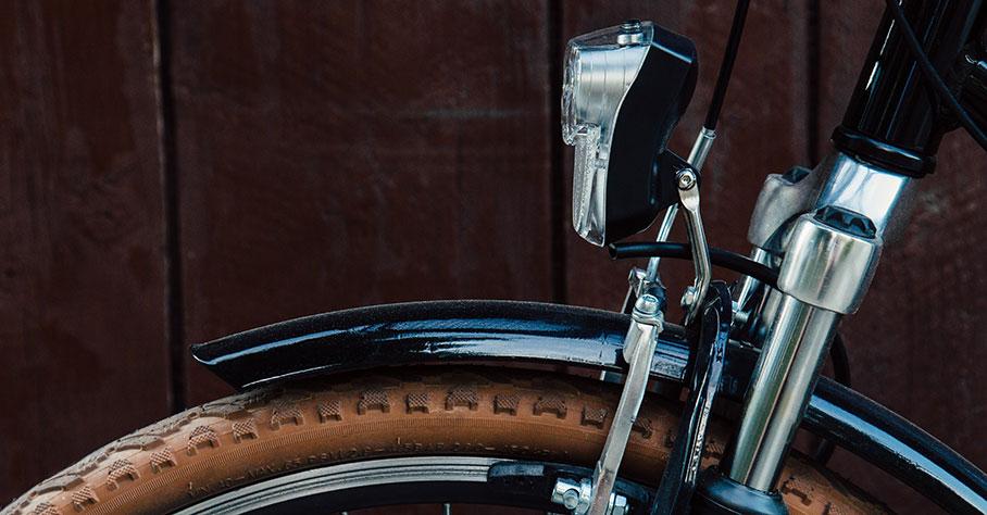 Cykelns olika delar